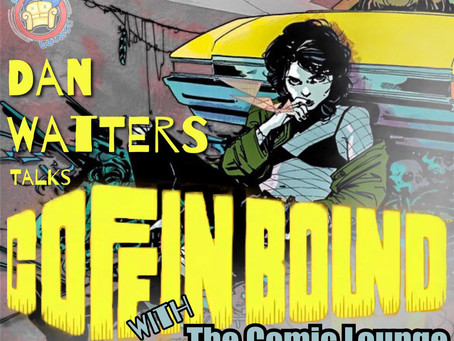 Dan Watters Gets Poetic and Post Apocalyptic With Coffin Bound