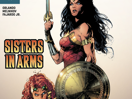 Wonder Woman Takes To The Stars In The Name Of Love (Wonder Woman #754 Review)