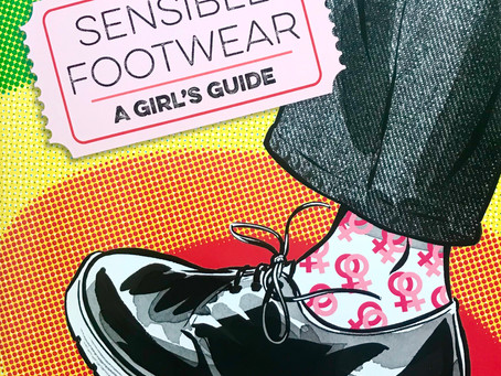 Rainbows Reign in This Iconic Queer Read (Sensible Footwear Review)