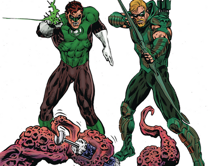 The Green Lantern #8 (Review): Hal and Ollie Have A Bad Trip