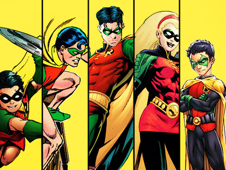 History of Robin: The Heirs to the Bat