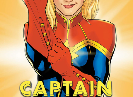 Kelly Sue DeConnick Explores Space & What Makes Carol So Cool(Captain Marvel Vol. 3 Review)
