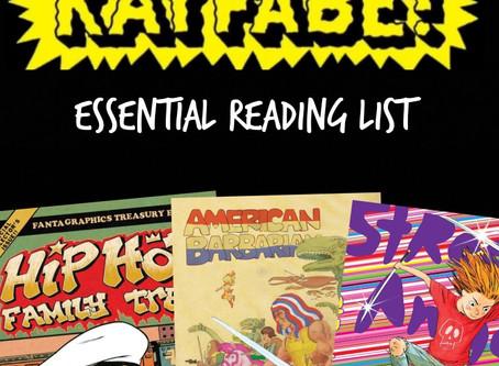 Cartoonist Kayfabe: The Reading List
