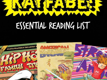 Cartoonist Kayfabe: The Reading List