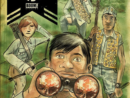 Black Badge #1 (Review) Not Your Ordinary Boy Scouts