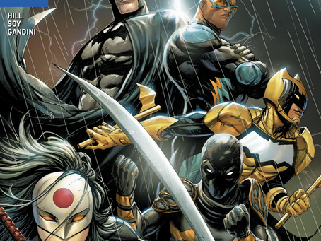 Batman and The Outsiders #1 (Review): New Team, Great Direction