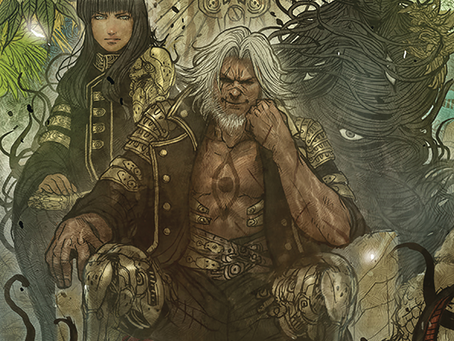 The Fox, The Cat, The Girl, and The God (as told by the Poets) Monstress Vol.4 Review