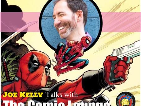 Joe Kelly Talks Deadpool, I Kill Giants and More
