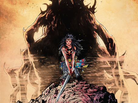 Apocalyptic Amazon Warrior (Wonder Woman: Dead Earth #1 Review)