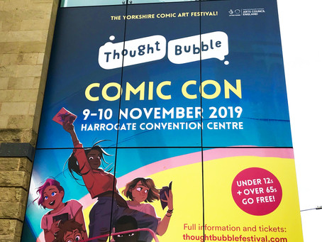 Inside Thought Bubble 2019