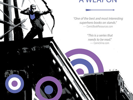 Hawkeye Vol.1 My Life as a Weapon (Review)