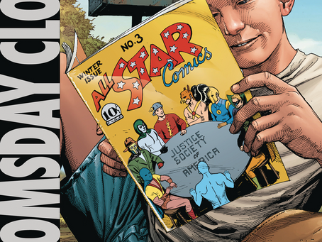 Doomsday Clock #10 (Review): The Heart of the DC Universe