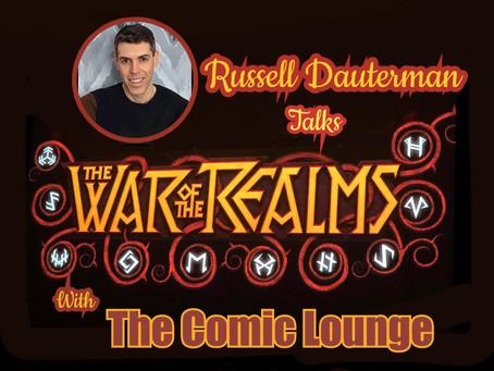 Russell Dauterman Talks Thor and Finishing WOTR