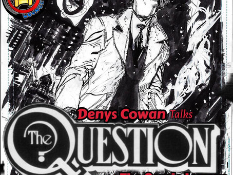 Denys Cowan Peels Back the Mask on New Question Book