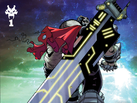 Wailing Blade #1 (Review): Terminator With A Touch of Fantasy