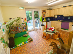 Baby Cottage - Messy Play Room