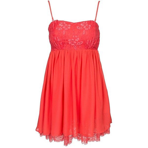 Rochie babydoll roșie