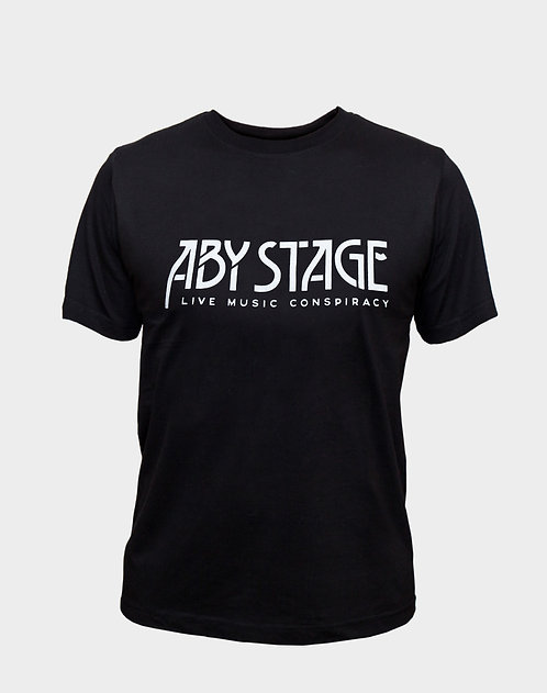 """Tricou unisex Logo """"ABY STAGE LIVE MUSIC CONSPIRACY"""""""