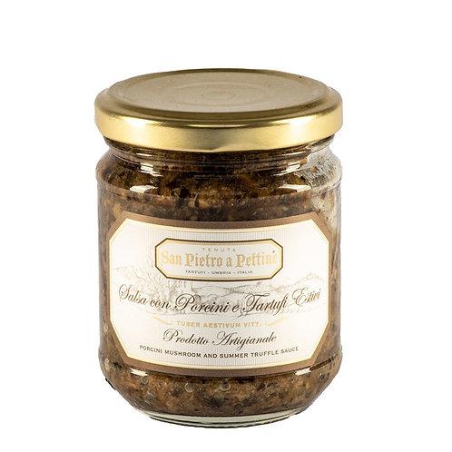 義大利頂級牛肝菌黑松露醬 180g