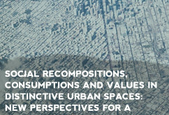 Social recompositions, consumptions and values in distinctive urban spaces: new perspectives for a c