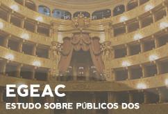 EGEAC | Estudo sobre Públicos dos Equipamentos e Eventos geridos pela EGEAC