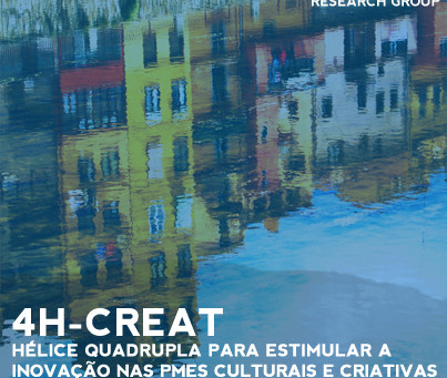 4H - CREAT Quadruple helix to stimulate innovation in the Atlantic Cultural & Creative SMEs