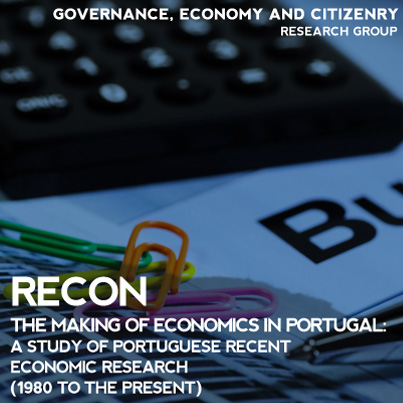 Recon the making of economics in portugal a study of portuguese recon the making of economics in portugal a study of portuguese re dinmiacet iul socioeconomic and territorial studies publicscrutiny Image collections