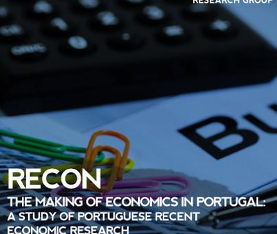 RECON    The making of economics in Portugal: a study of Portuguese recent economic research (1980 t