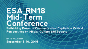 ESA RN18 - International Conference