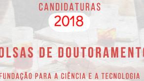 Bolsas de Doutoramento 2018