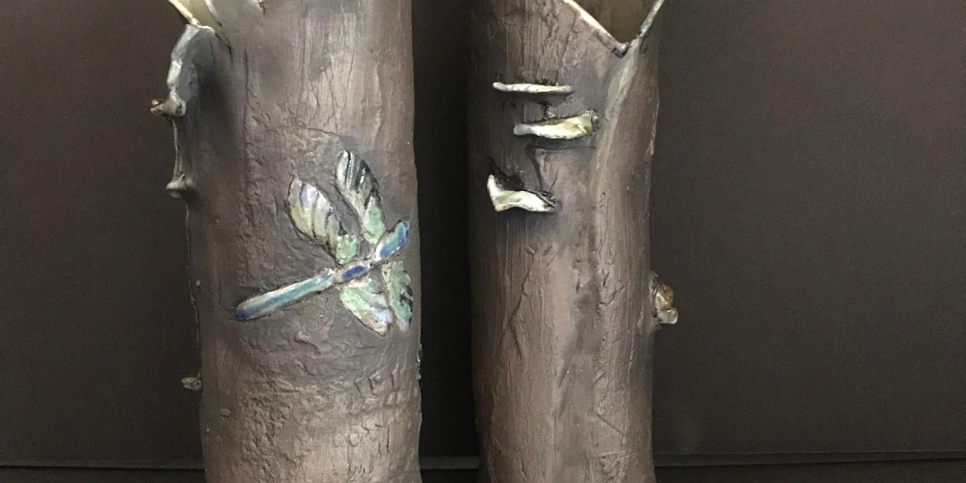 Woodland Vases 2018