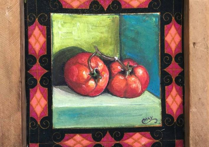 Tomatoes, sold at Nourish Louisa