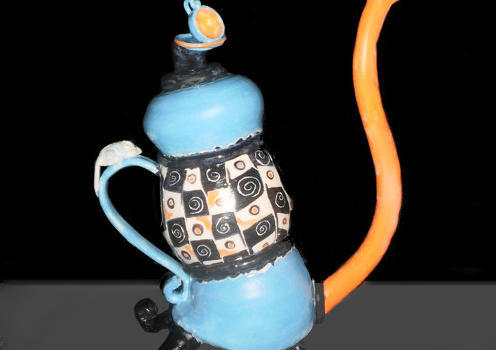 Fantasy Teapot, Sold 2017, Orange Arts Center, Virginia