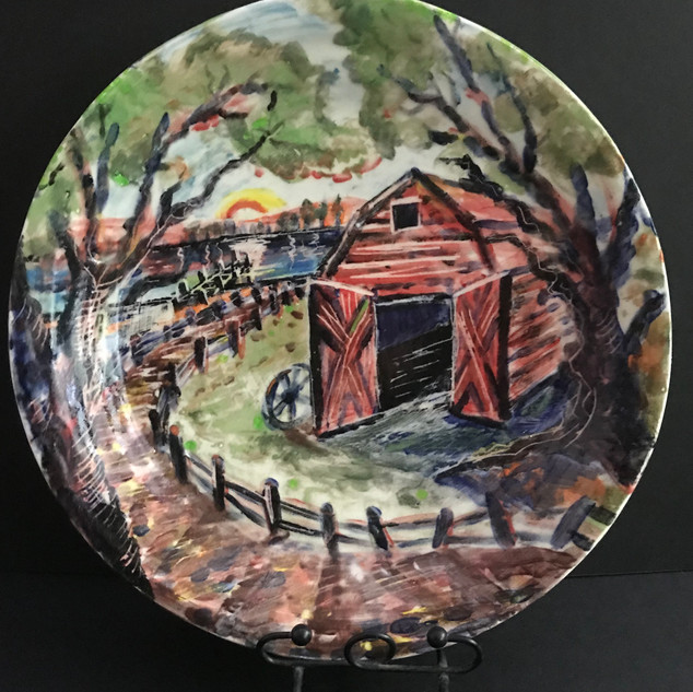 Barn Plate