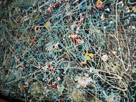 Walking on Pollock