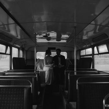 the wild vine, wagga wagga, double decker bus, wedding