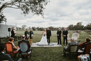 Wedding at The Wild Vine