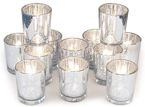 Silver votive