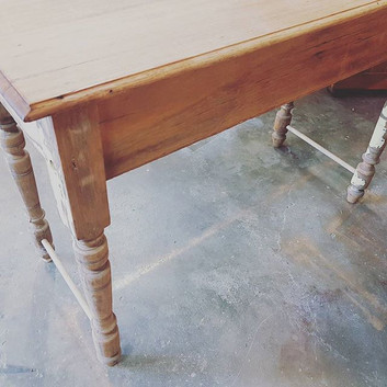 Small timber table