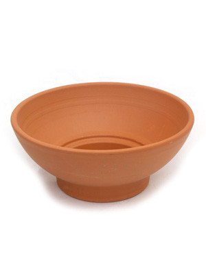 Medium terracotta vessel