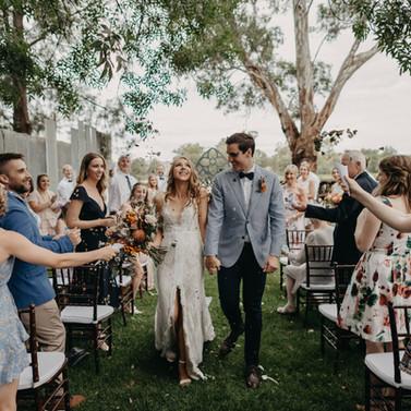 Wedding at the wild vine, wagga wagga.