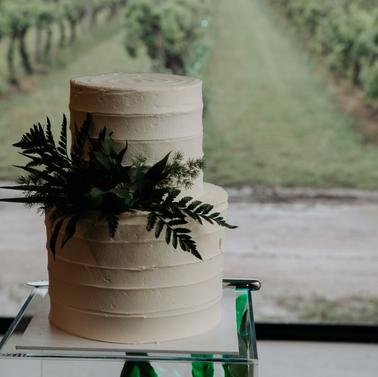 Wedding cake. the wild vine