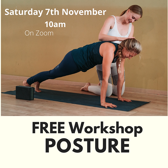 Free Online Posture Workshop