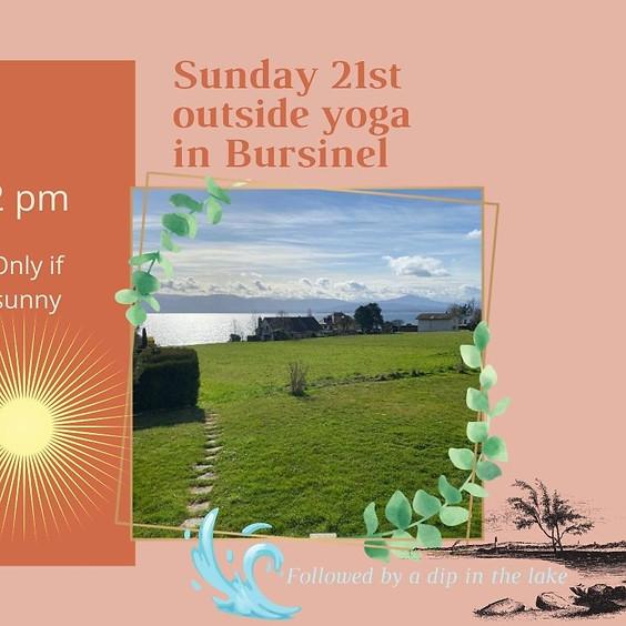 Sunday Yoga in Bursinel