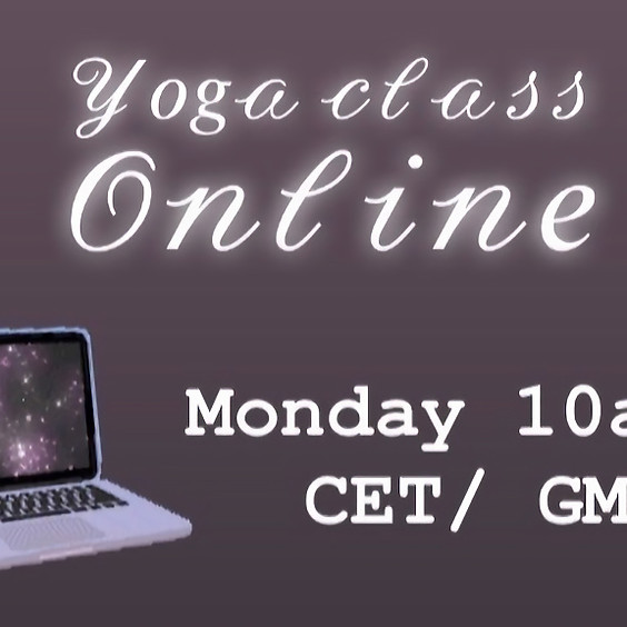 Online Immunity Boosting yoga class - Zoom