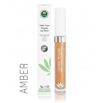 PHB 100% Pure Organic Lip Gloss - Amber