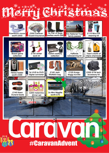 Your chance to win in 25 Christmas competitions from Caravan magazine