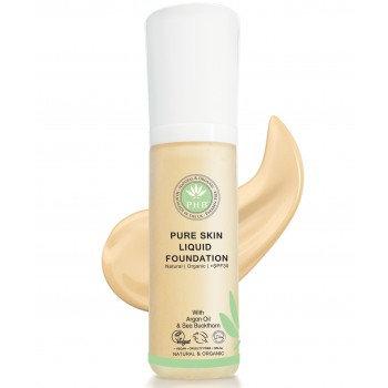 Pure Skin Organic Liquid Foundation - Fair Beige