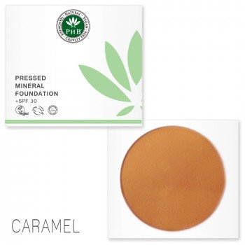 Pressed Mineral Foundation - Caramel