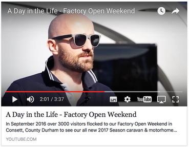 Elddis Factory Open Weekend
